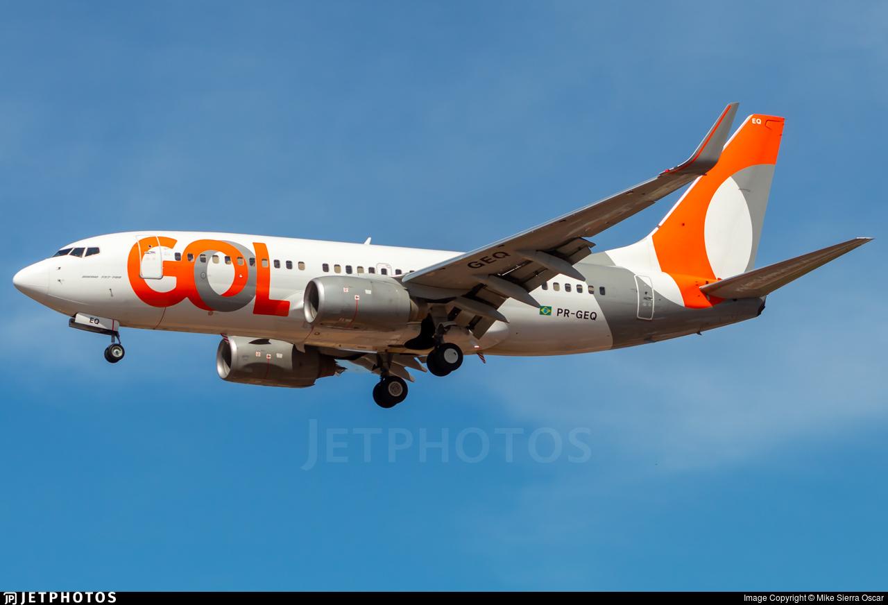 PR-GEQ - Boeing 737-7K5 - GOL Linhas Aereas