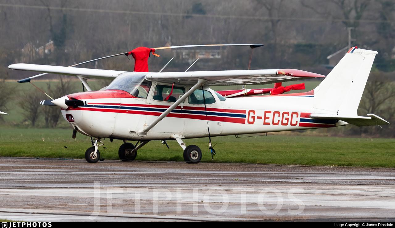 G-ECGC - Reims-Cessna F172N Skyhawk II - Private