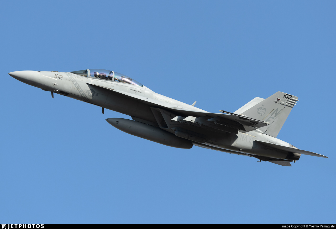 166917 - Boeing F/A-18F Super Hornet - United States - US Navy (USN)