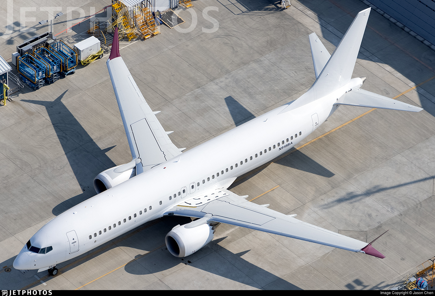 N918BA - Boeing 737-8 MAX - Boeing Company