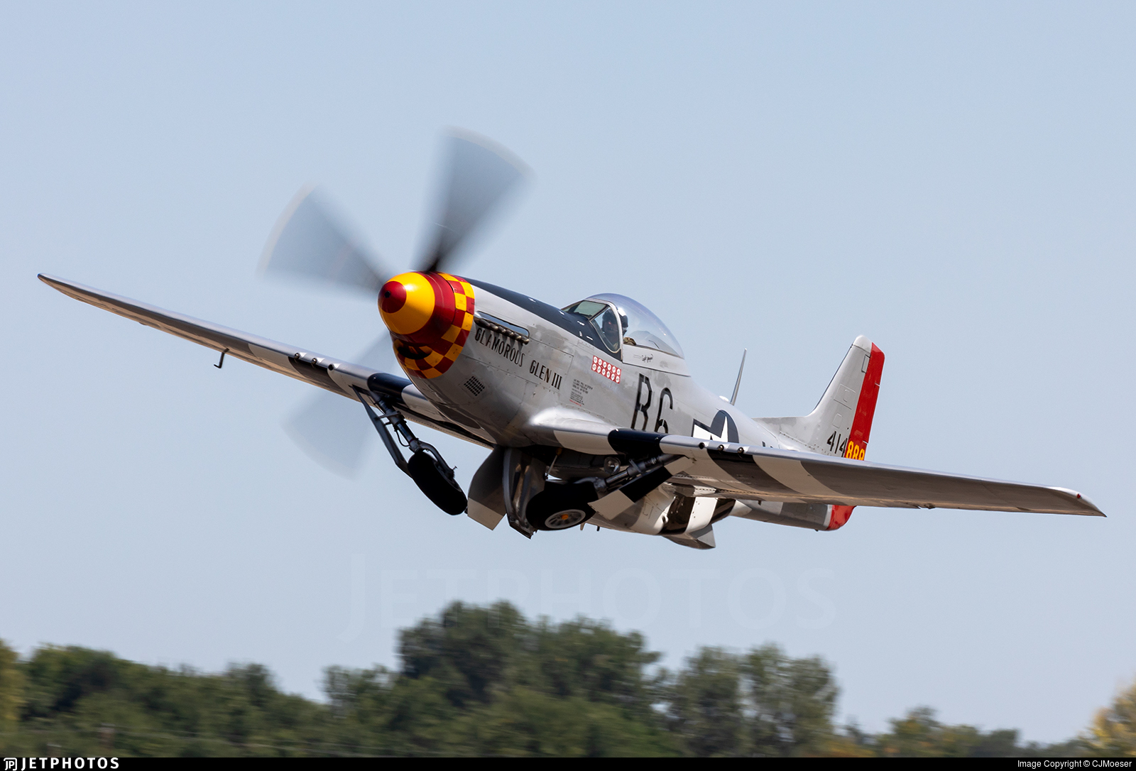 N3333E - North American P-51D Mustang - Private