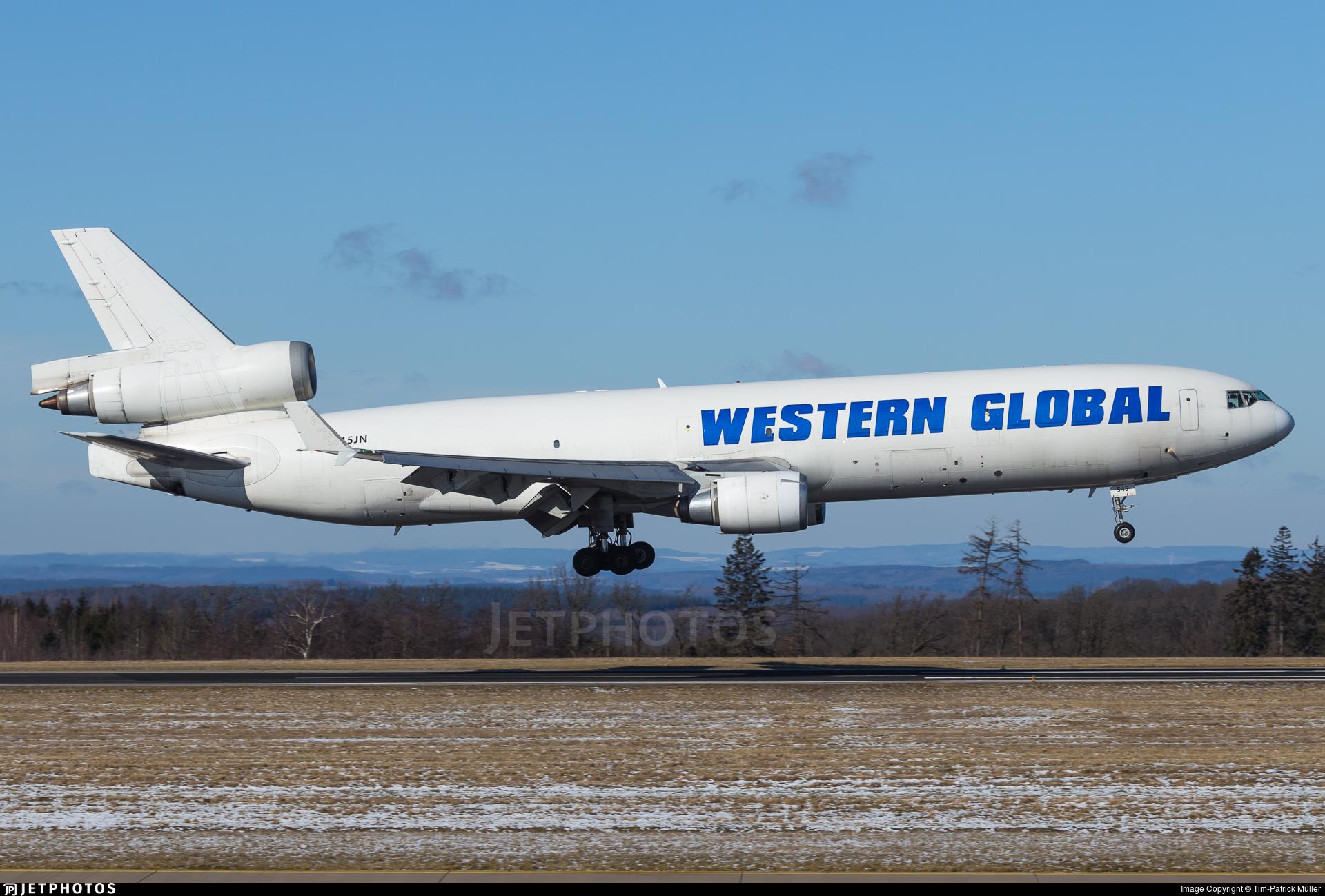 N545JN - McDonnell Douglas MD-11(F) - Western Global Airlines