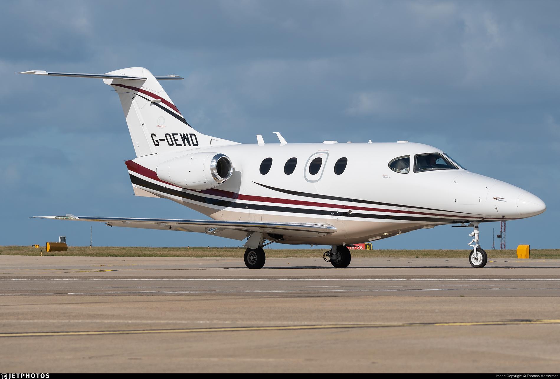 G-OEWD - Hawker Beechcraft 390 Premier I - Avidus Jet