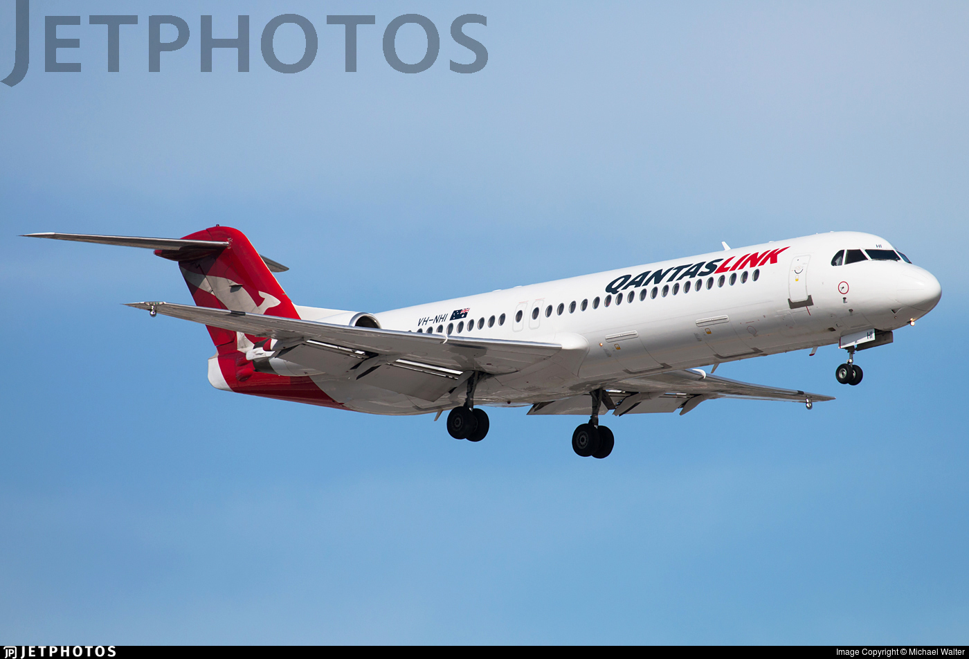 VH-NHI - Fokker 100 - QantasLink (Network Aviation)