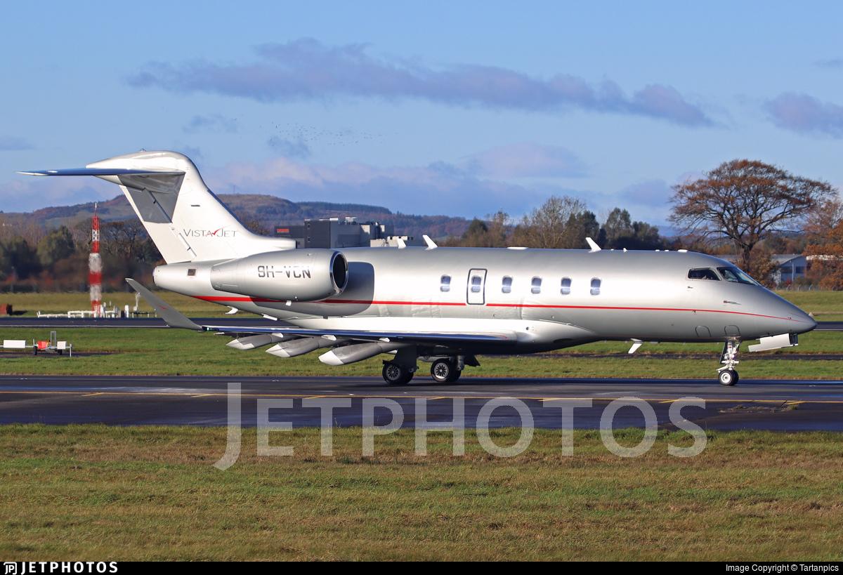 9H-VCN - Bombardier BD-100-1A10 Challenger 350 - VistaJet
