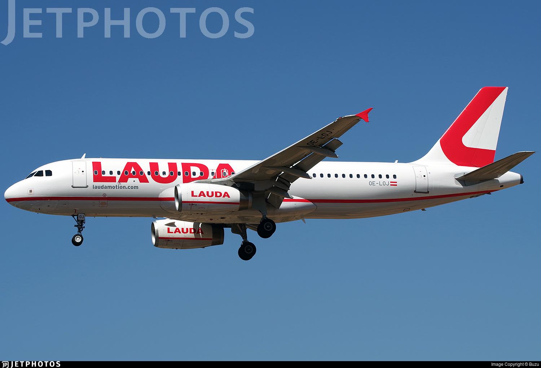 OE-LOJ - Airbus A320-232 - LaudaMotion