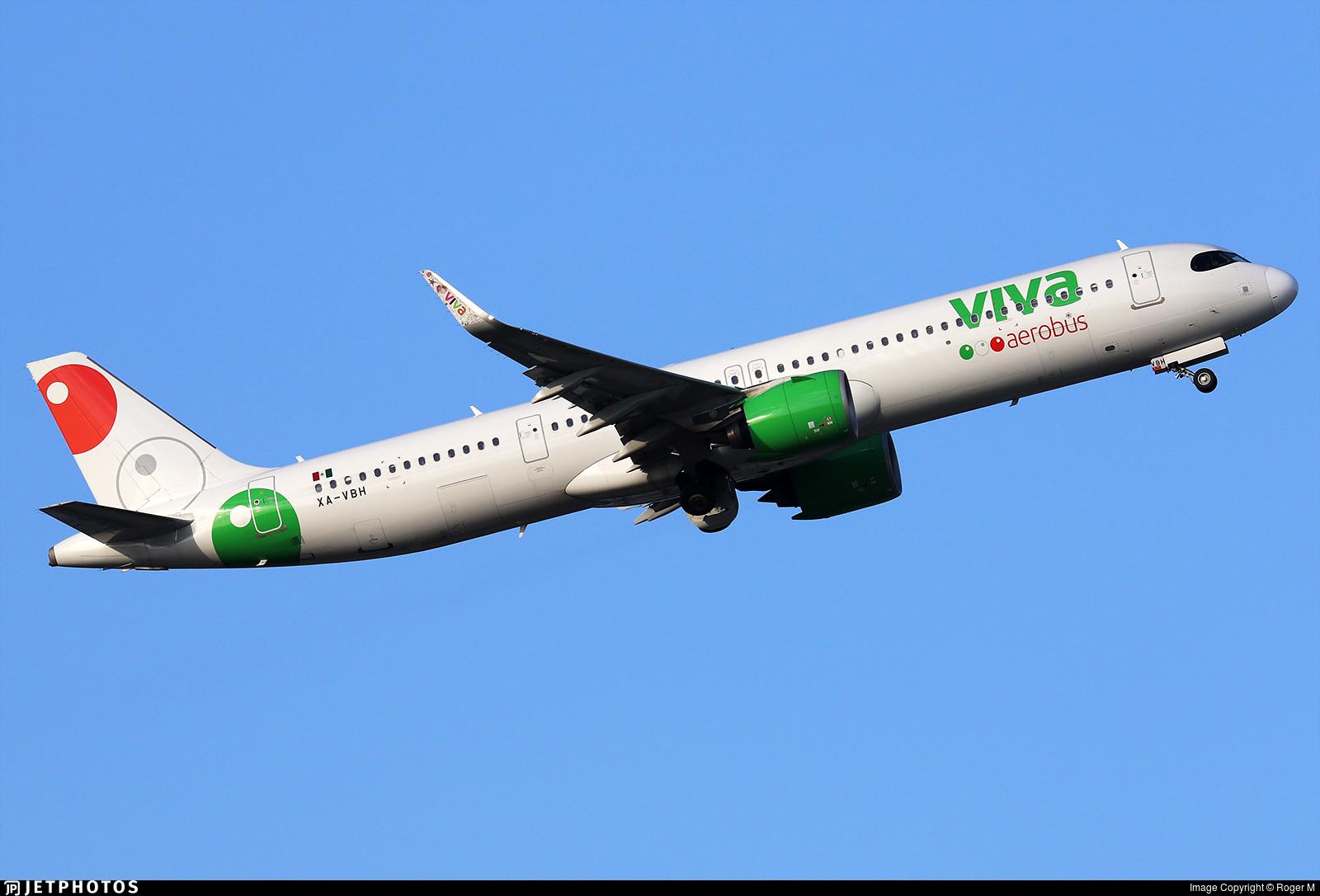 XA-VBH - Airbus A321-271NX - VivaAerobus