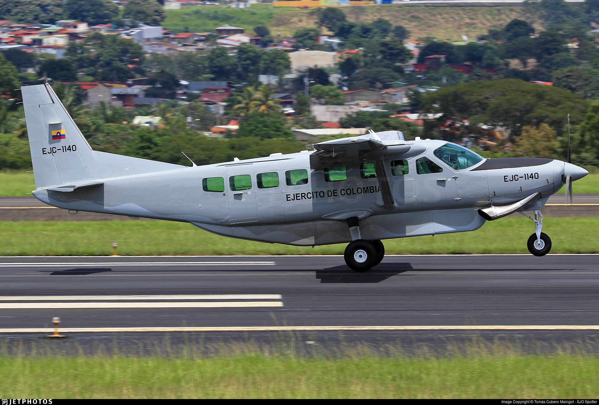EJC1140 - Cessna 208B Grand Caravan EX - Colombia - Army