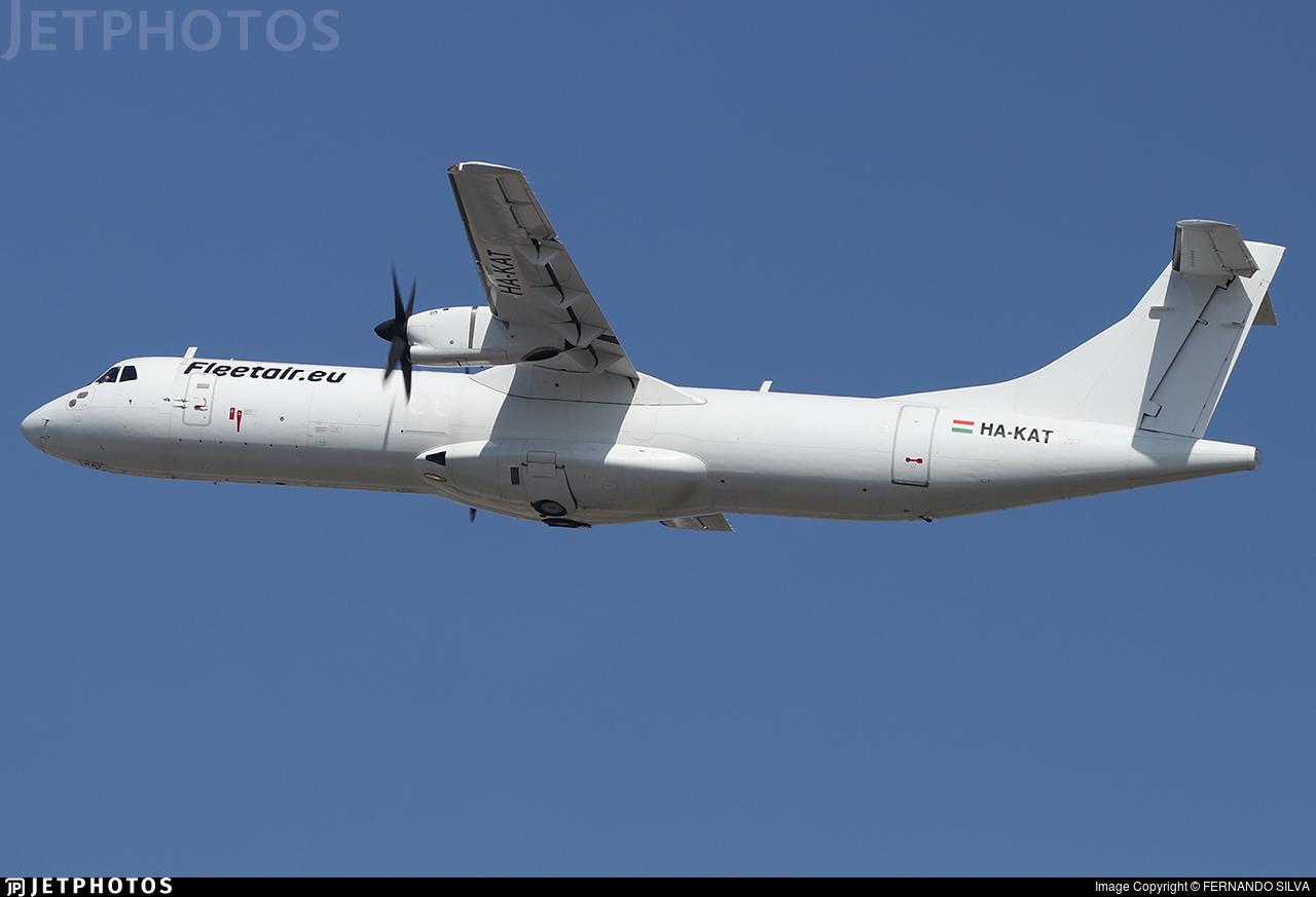 HA-KAT - ATR 72-201(F) - Fleet Air International