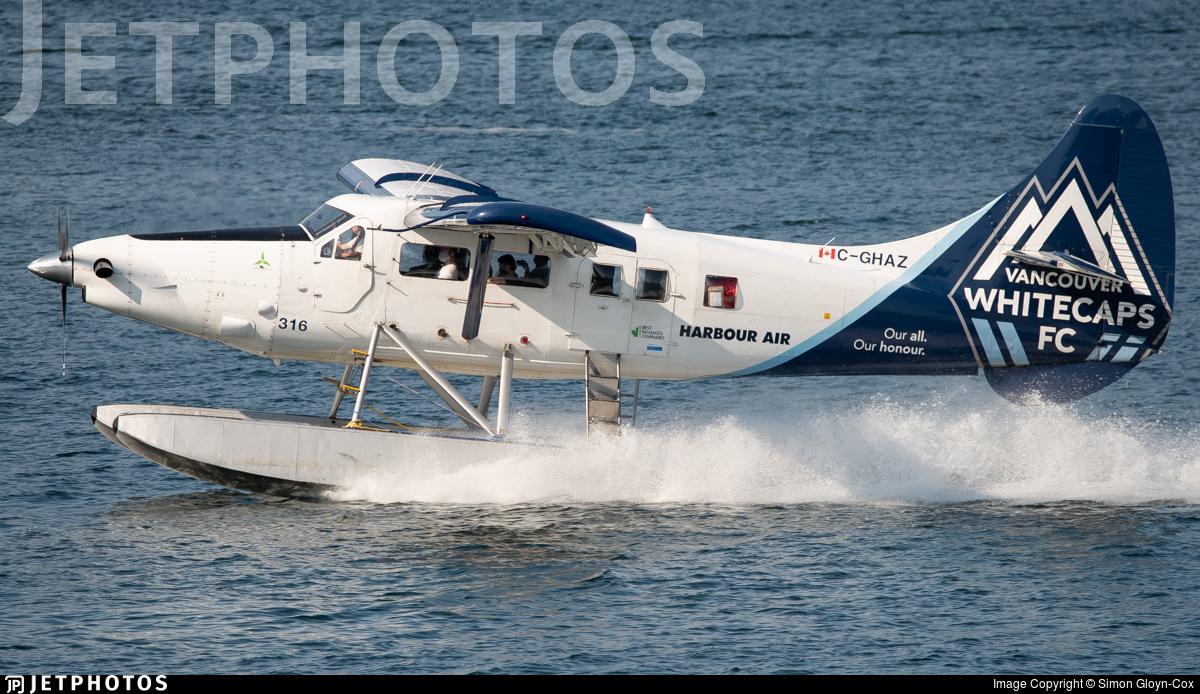 C-GHAZ - De Havilland Canada DHC-3 Otter - Harbour Air