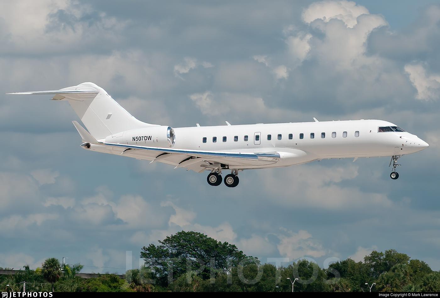 N507DW - Bombardier BD-700-1A10 Global 6000 - Bombardier Aerospace