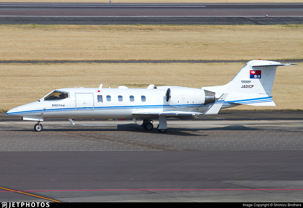 JA01CP - Bombardier Learjet 31A - Private