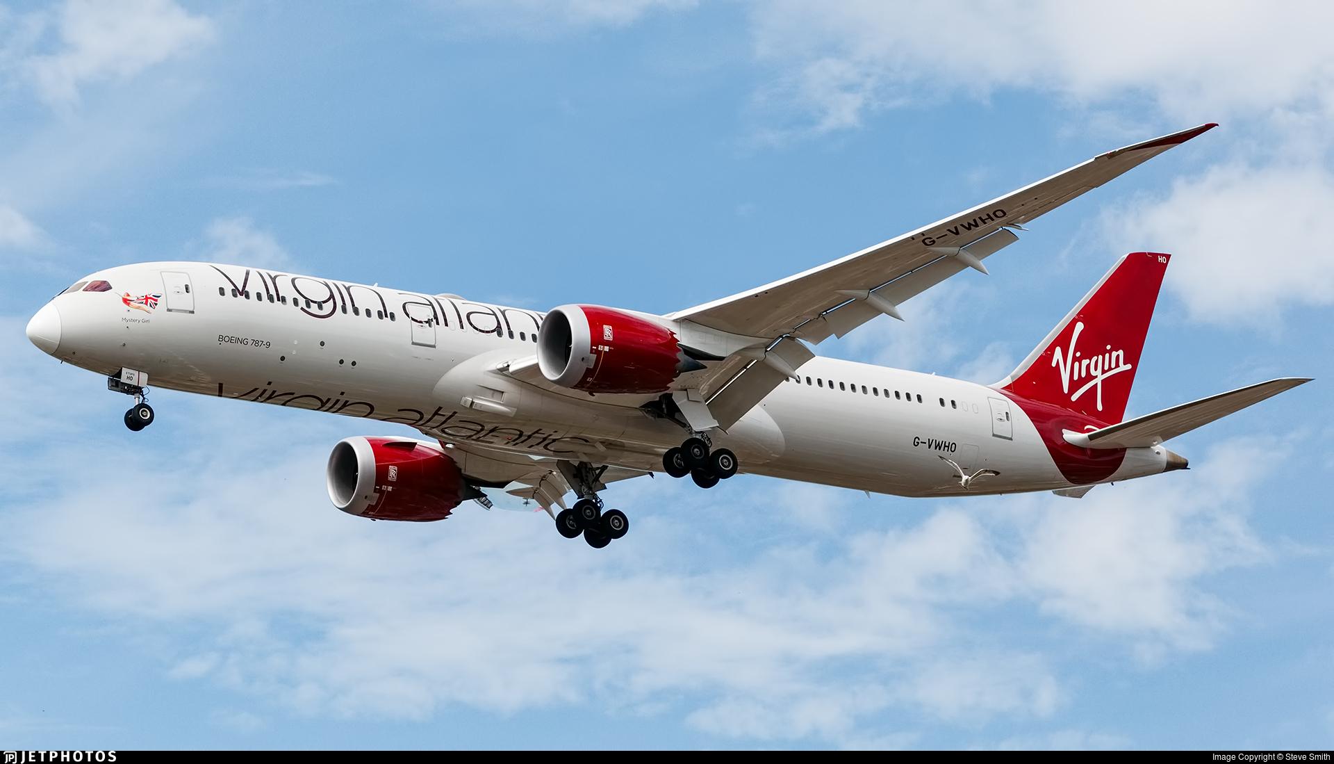G-VWHO - Boeing 787-9 Dreamliner - Virgin Atlantic Airways