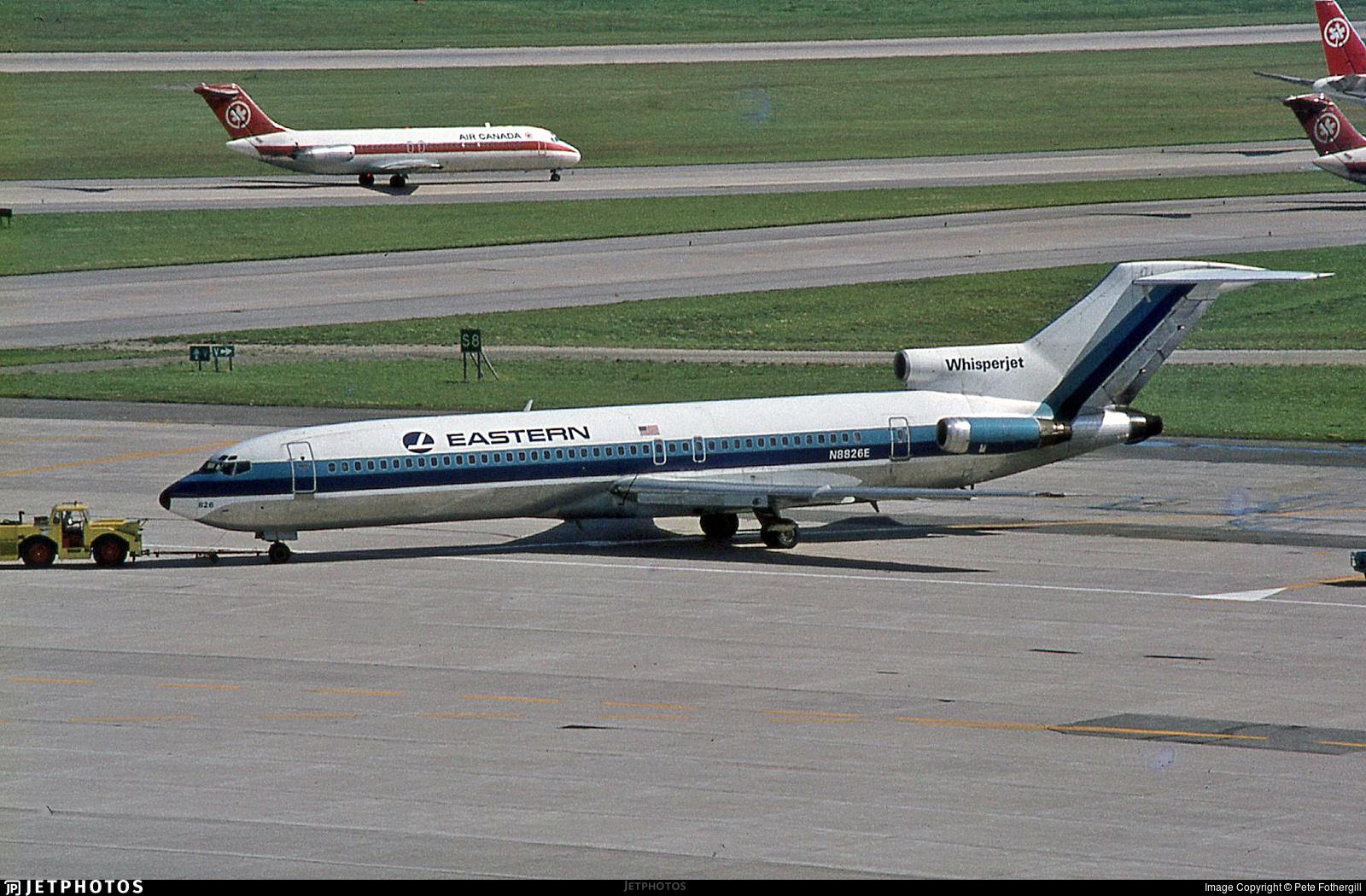 N8826E - Boeing 727-225 - Eastern Air Lines