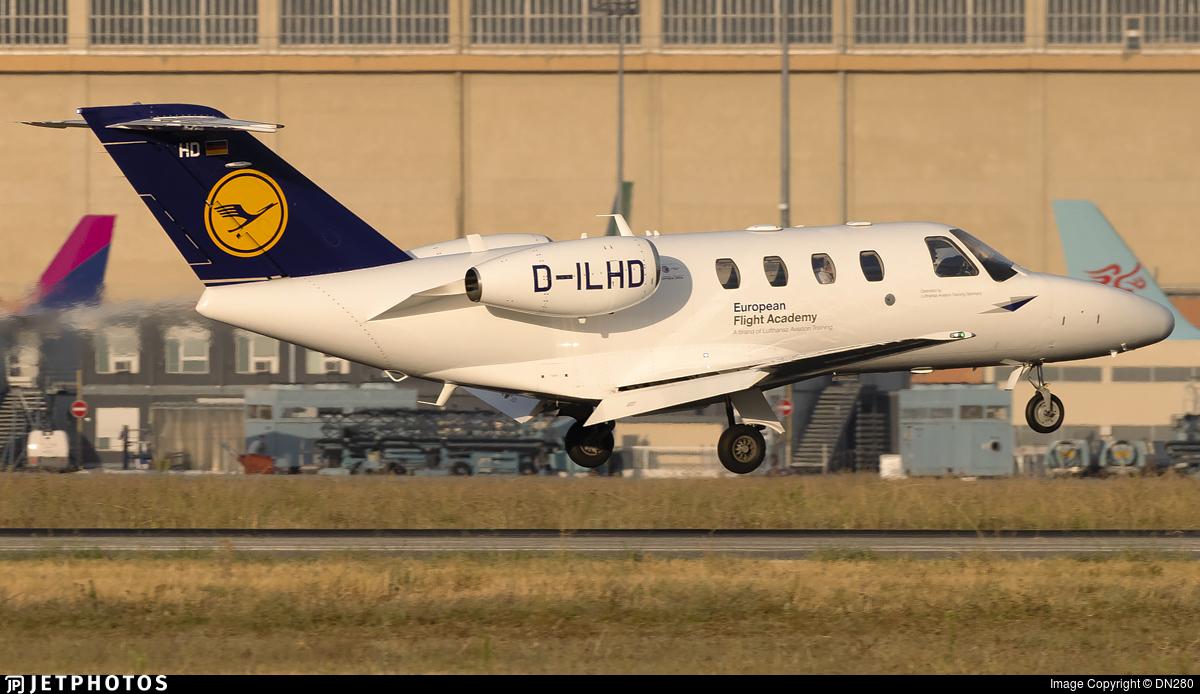 D-ILHD - Cessna 525 CitationJet 1 Plus - European Flight Academy