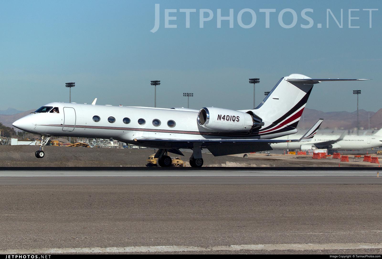 N401QS - Gulfstream G-IV(SP) - NetJets Aviation