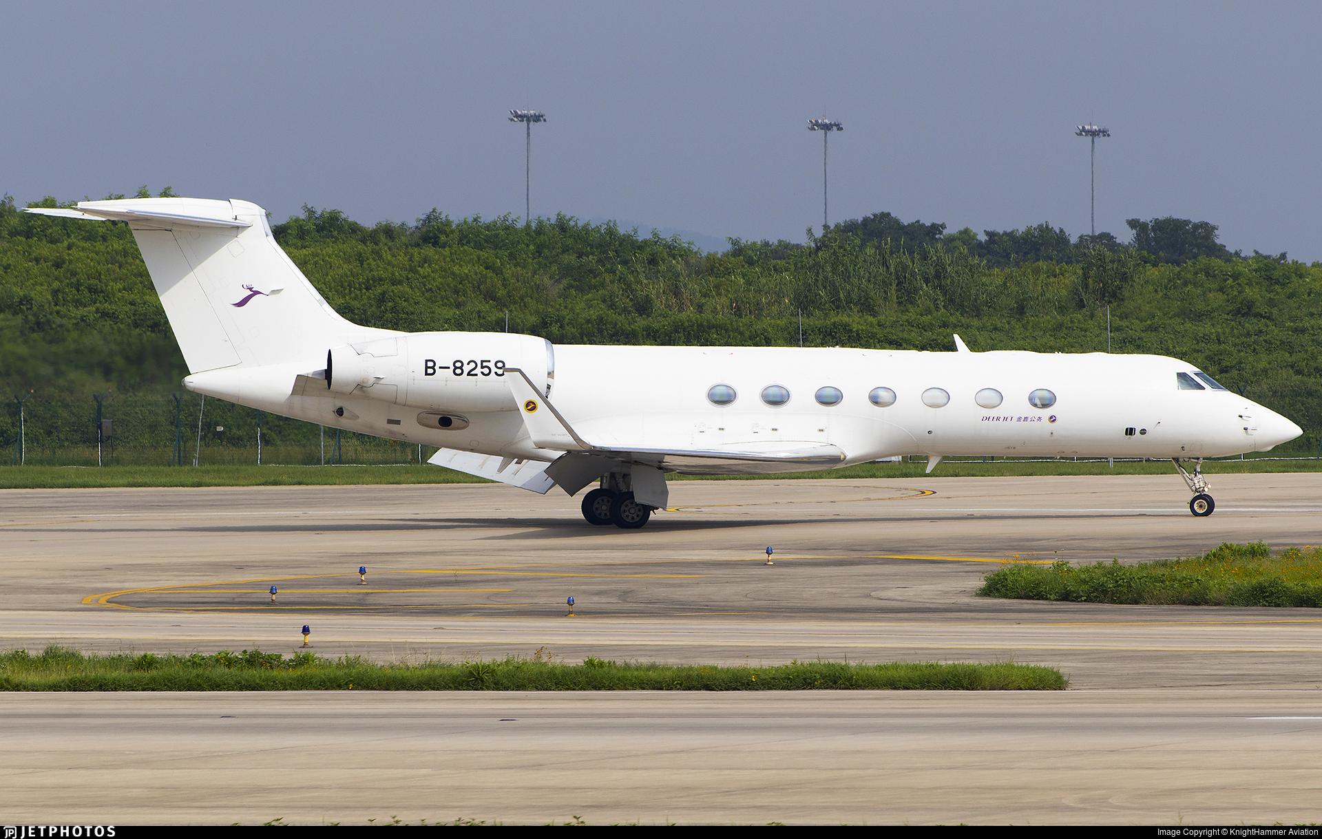 B-8259 - Gulfstream G550 - Deer Jet