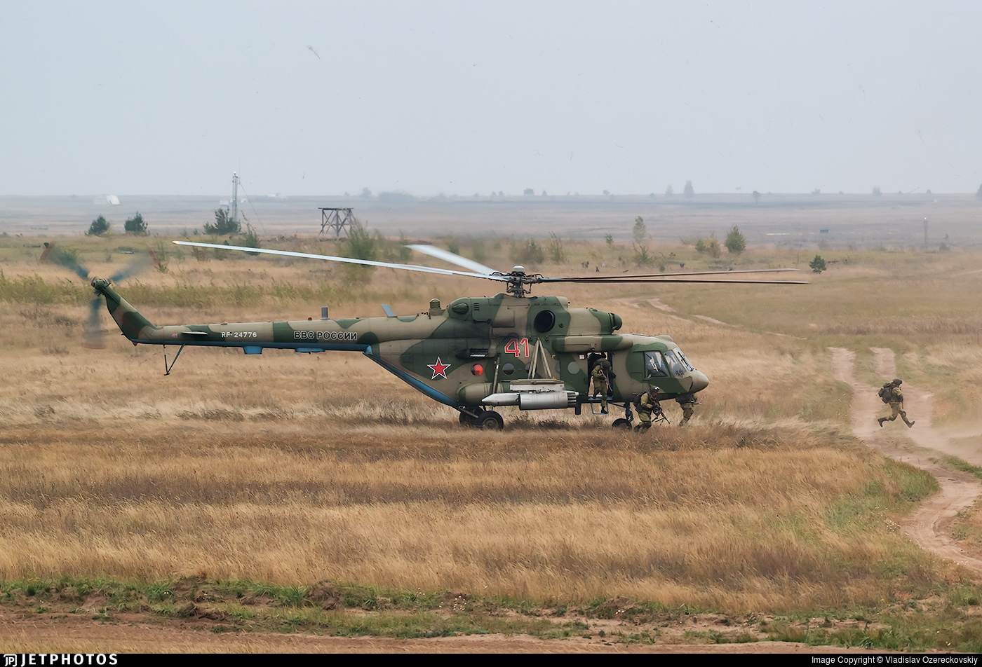RF-24776 - Mil Mi-8MTV-5 Hip - Russia - Air Force