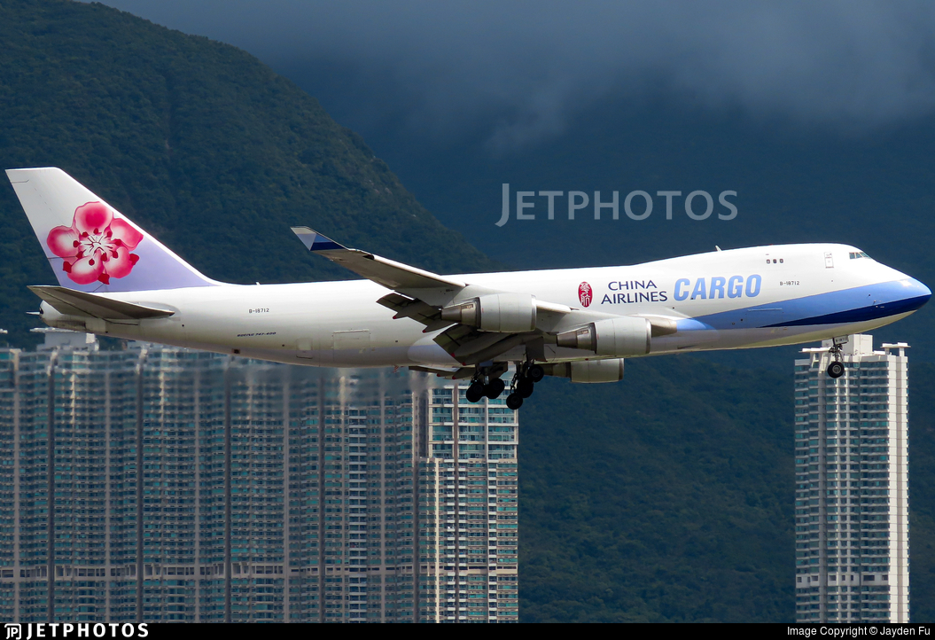 B-18712 - Boeing 747-409F(SCD) - China Airlines Cargo