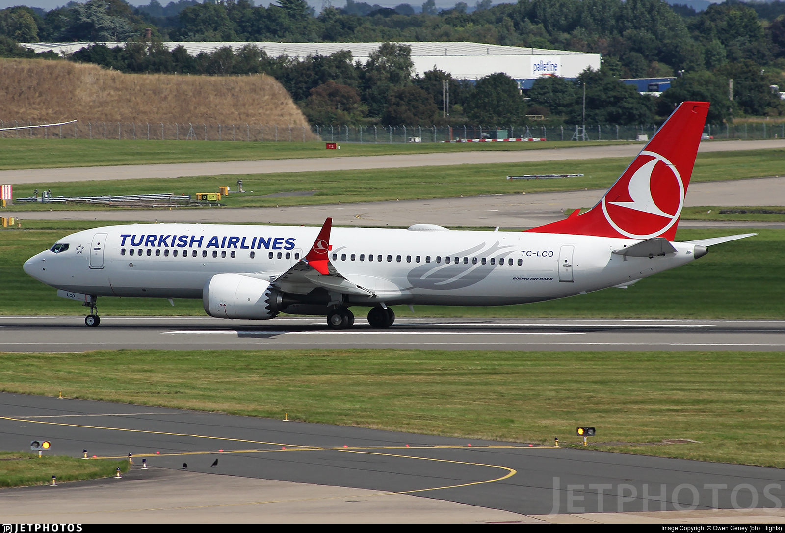 TC-LCO - Boeing 737-8 MAX - Turkish Airlines