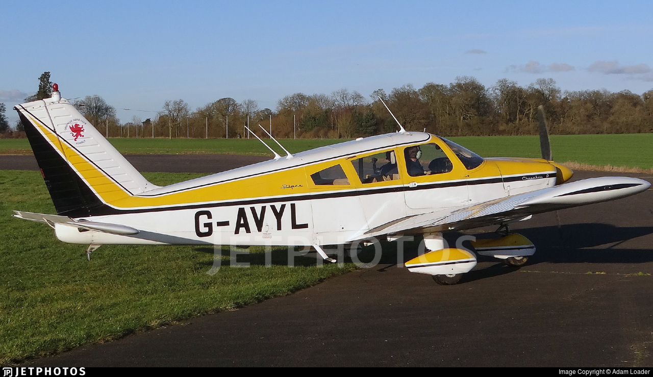 G-AVYL - Piper PA-28-180 Cherokee D - Private