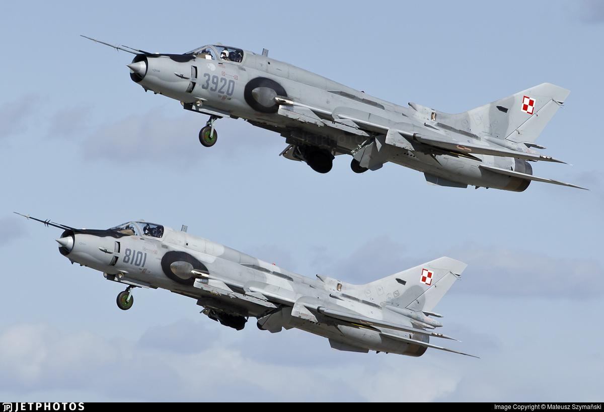 3920 - Sukhoi Su-22M4 Fitter K - Poland - Air Force
