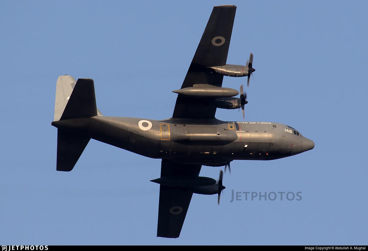 4148 - Lockheed C-130E Hercules - Pakistan - Air Force
