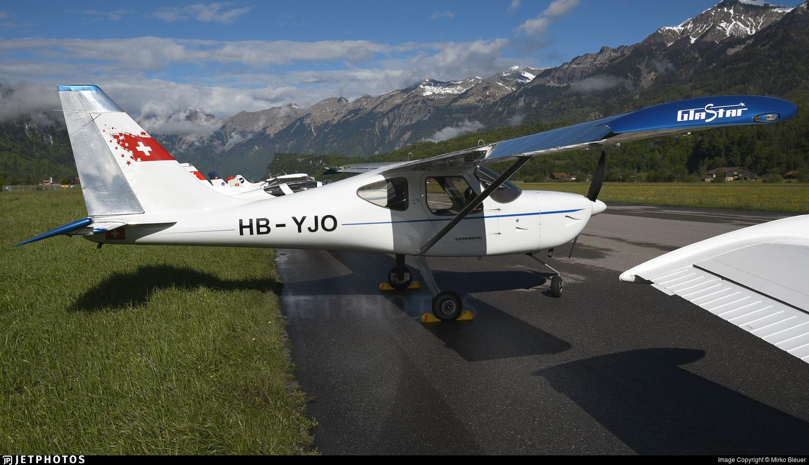 HB-YJO - Stoddard-Hamilton Glastar - Private