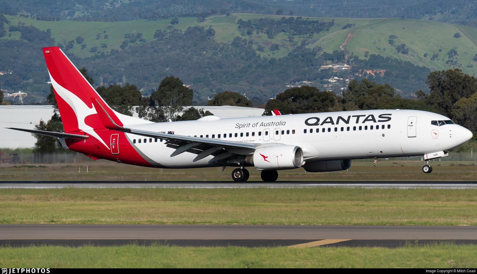 VH-VZM - Boeing 737-838 - Qantas