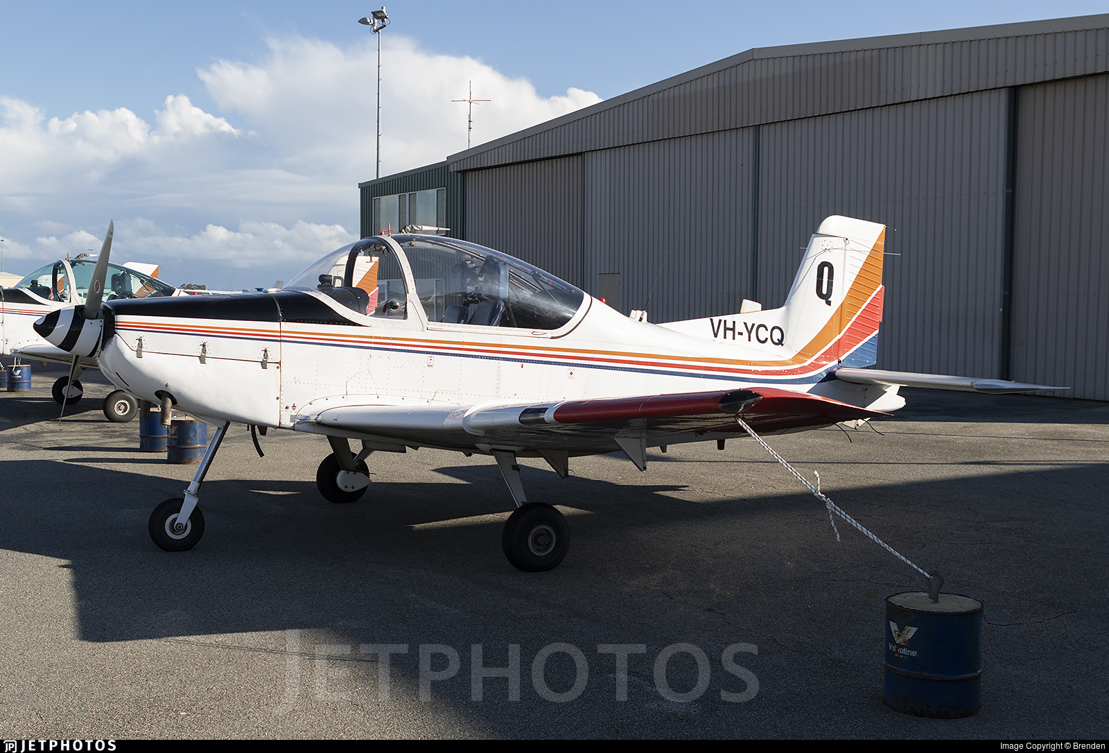 VH-YCQ - Pacific Aerospace CT-4B Airtrainer - Private