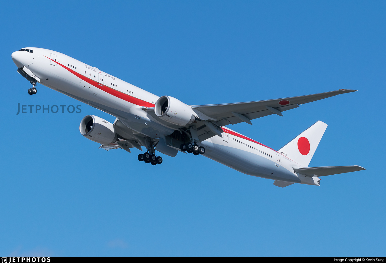 80-1111 - Boeing 777-3SBER - Japan - Air Self Defence Force (JASDF)