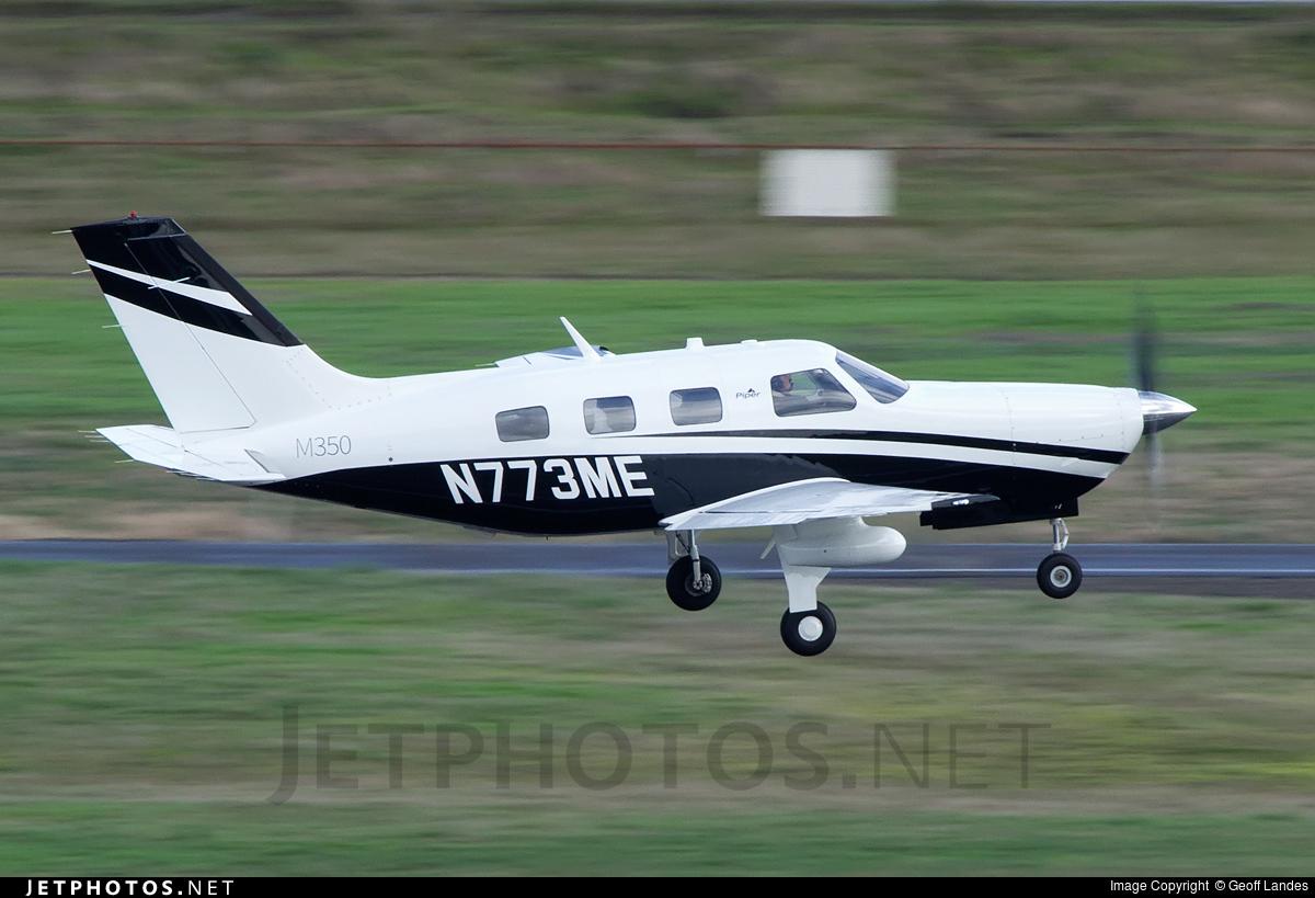 N773ME - Piper PA-46-M350 - Private