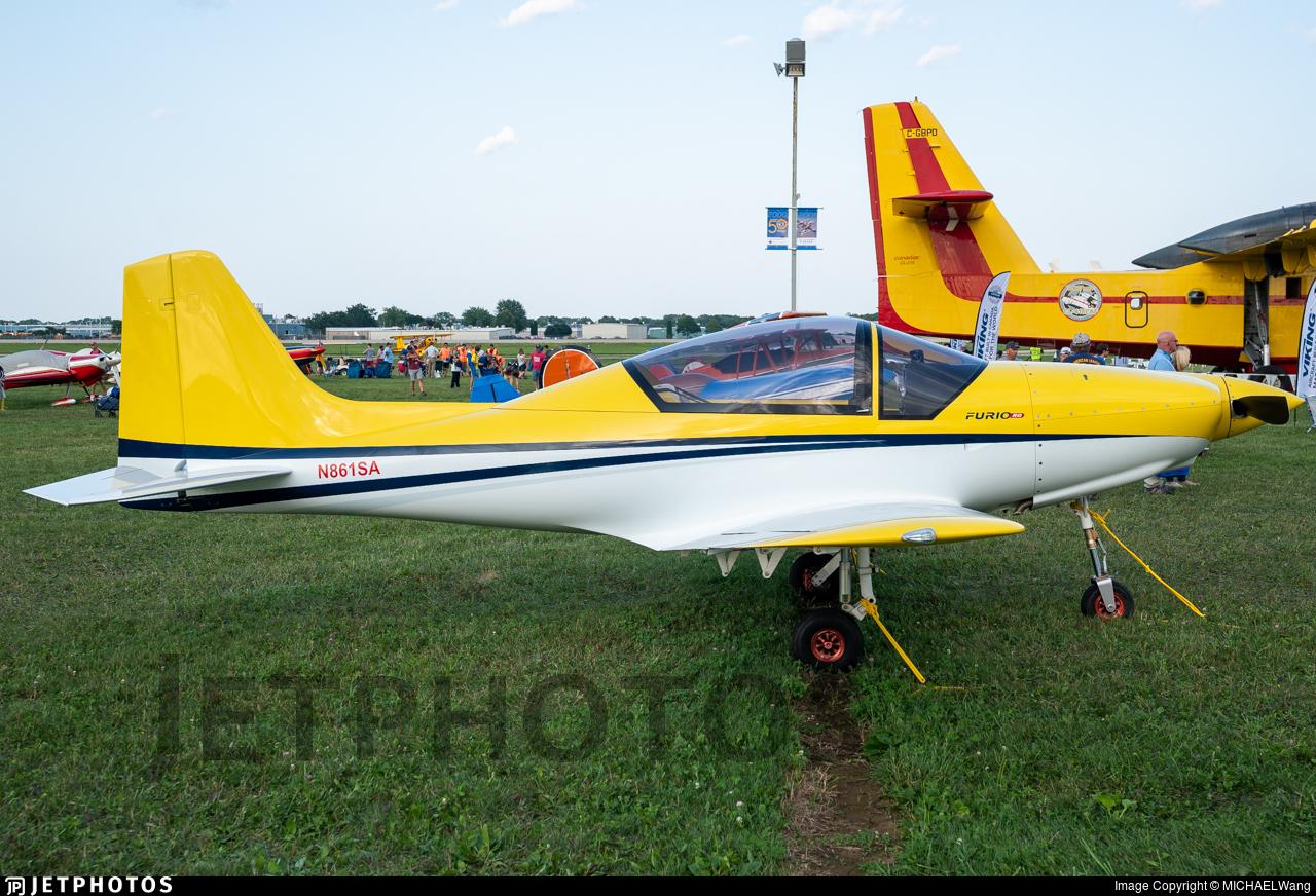 N861SA - Falcomposite Furio LN27 RG - Private