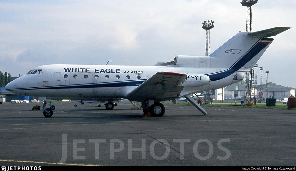 SP-FYT - Yakovlev Yak-40K - White Eagle Aviation