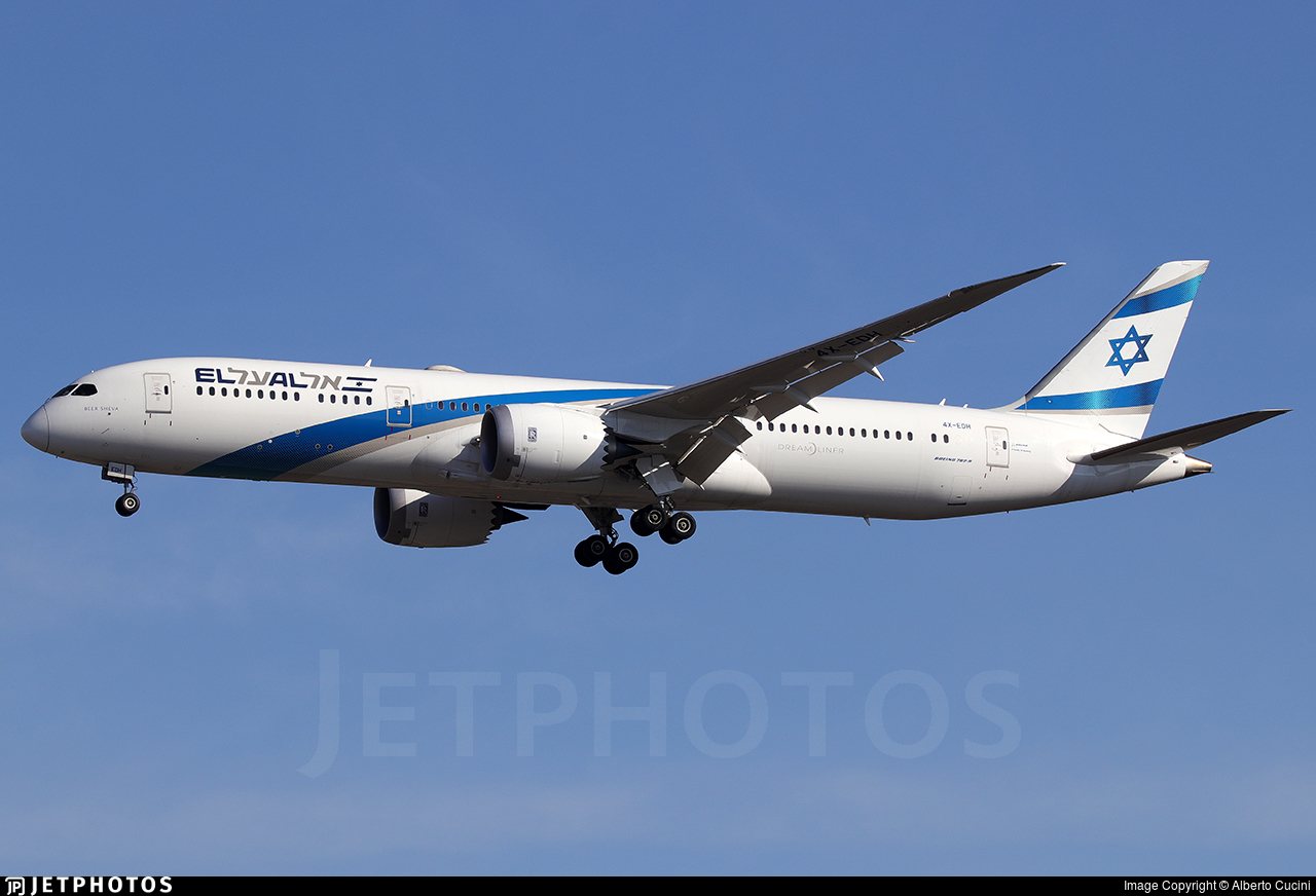 4X-EDH - Boeing 787-9 Dreamliner - El Al Israel Airlines
