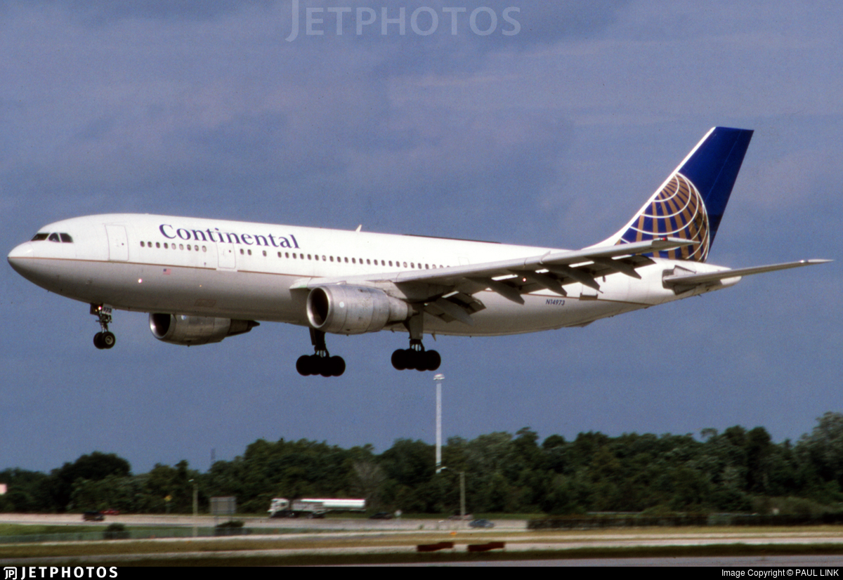 N14973 - Airbus A300B4-203 - Continental Airlines