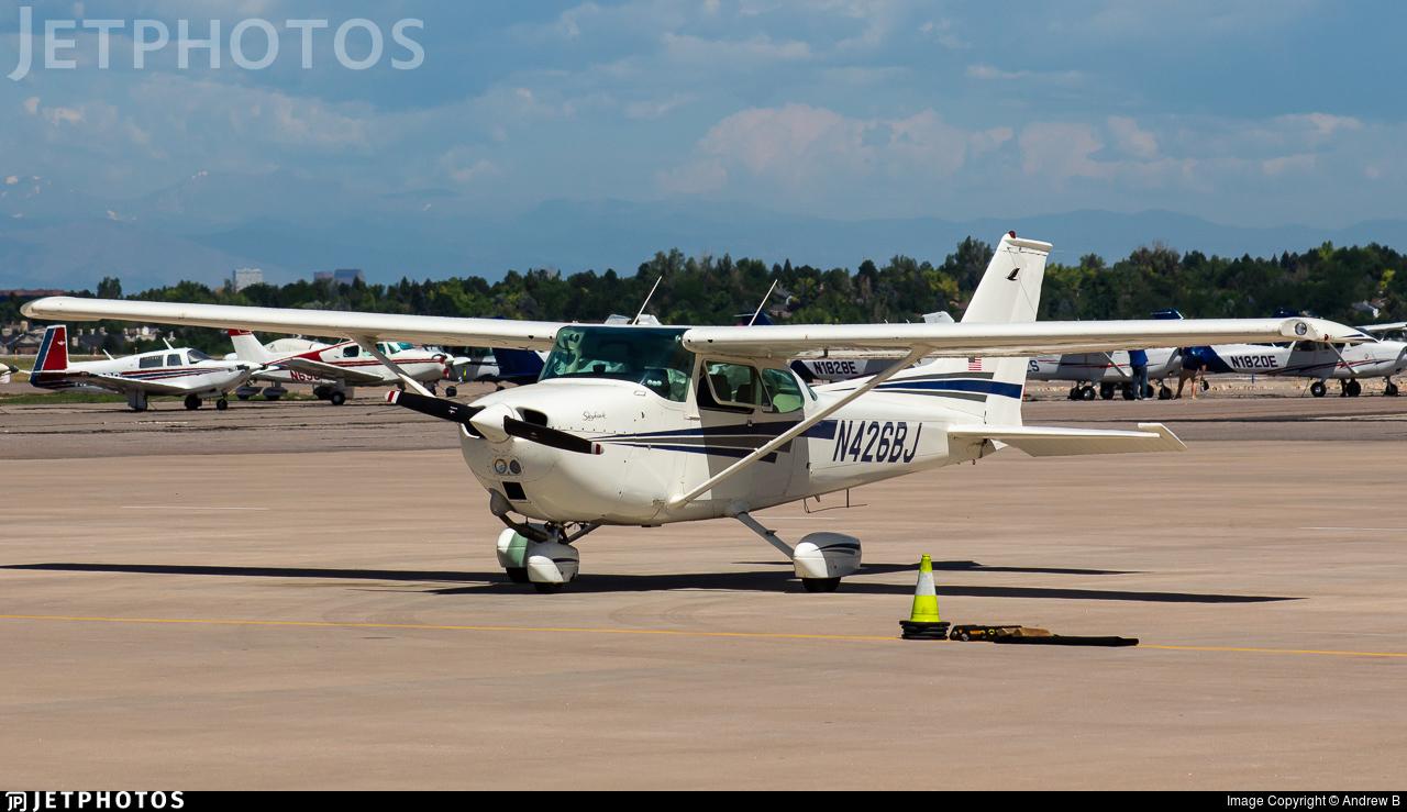 N426BJ - Cessna 172M Skyhawk - Private