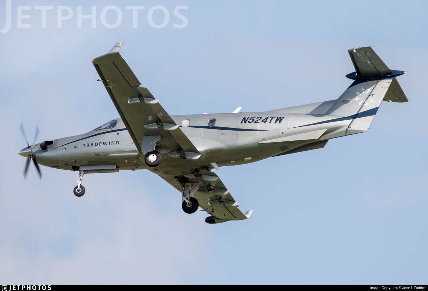 N524TW - Pilatus PC-12/45 - Tradewind Aviation