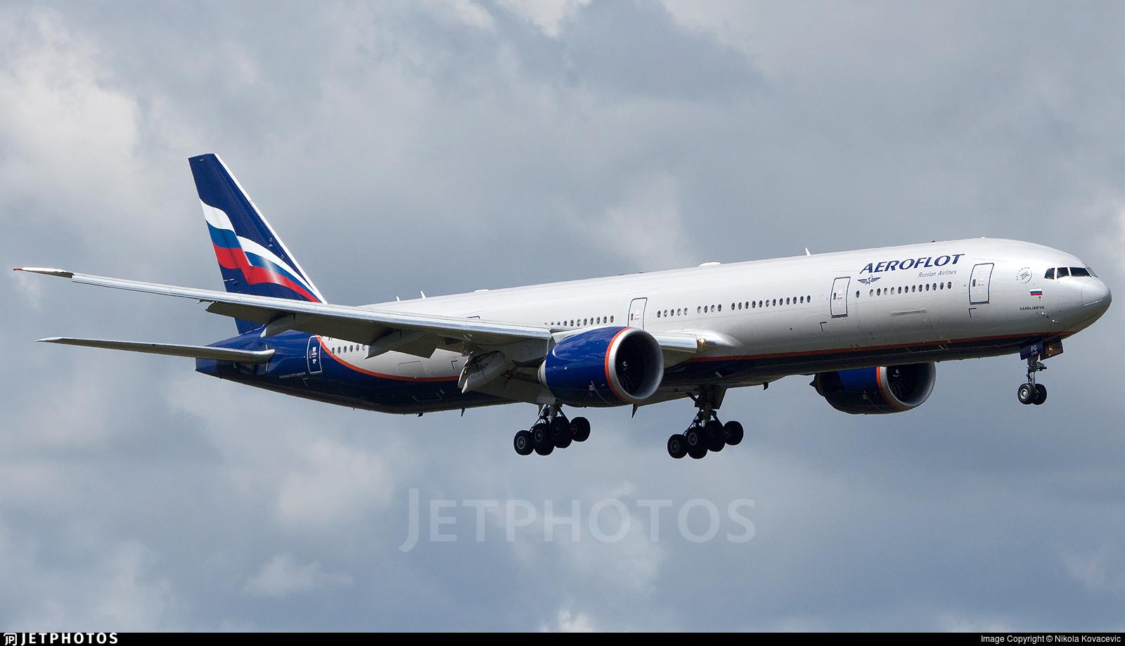 VP-BPG - Boeing 777-3M0ER - Aeroflot