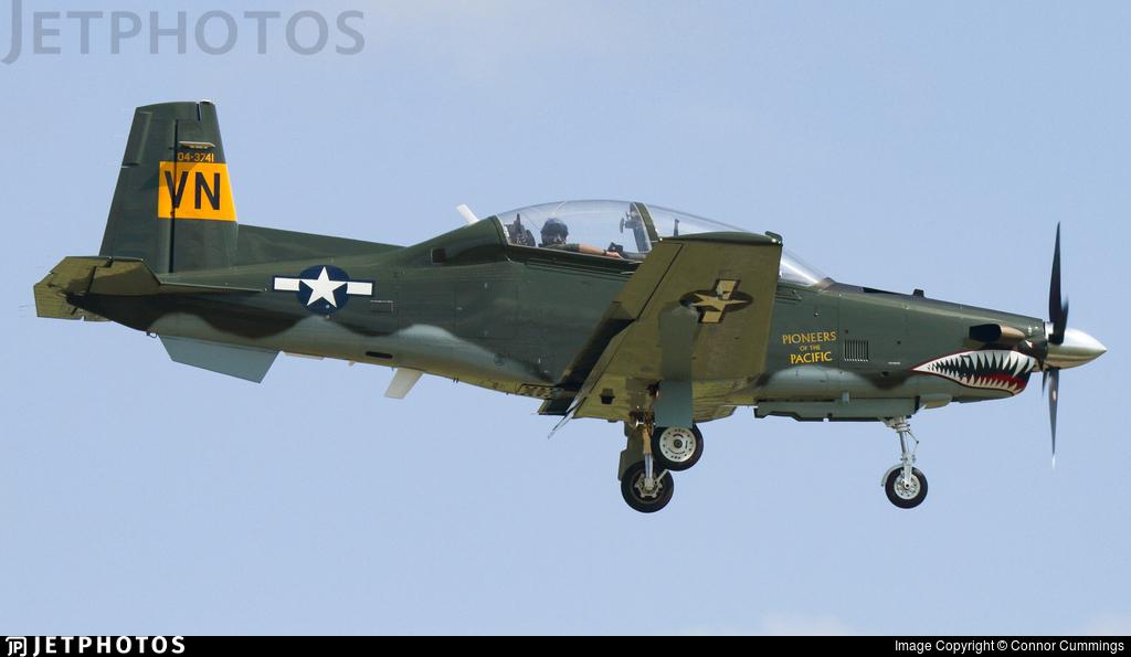 04-3741 - Raytheon T-6A Texan II - United States - US Air Force (USAF)