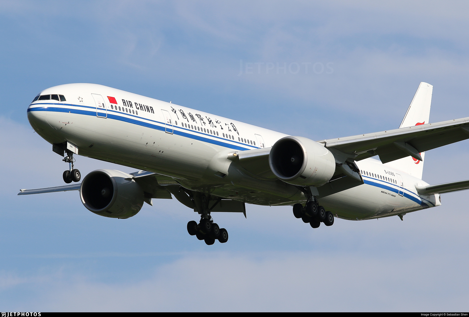 B-2085 - Boeing 777-39LER - Air China