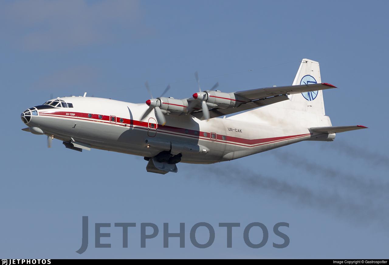 UR-CAK - Antonov An-12BK - Ukraine Air Alliance (UAA)