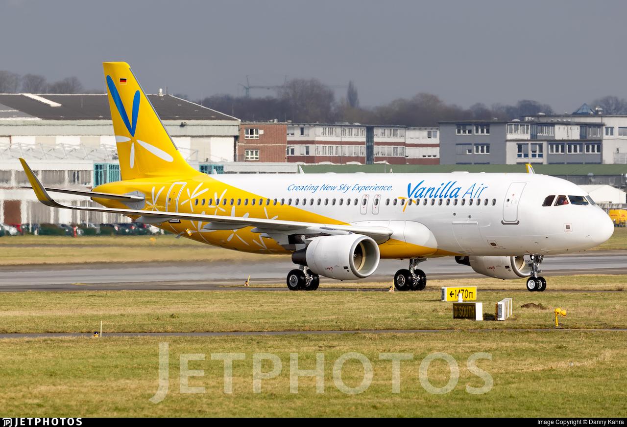 D-AXAJ - Airbus A320-214 - Vanilla Air