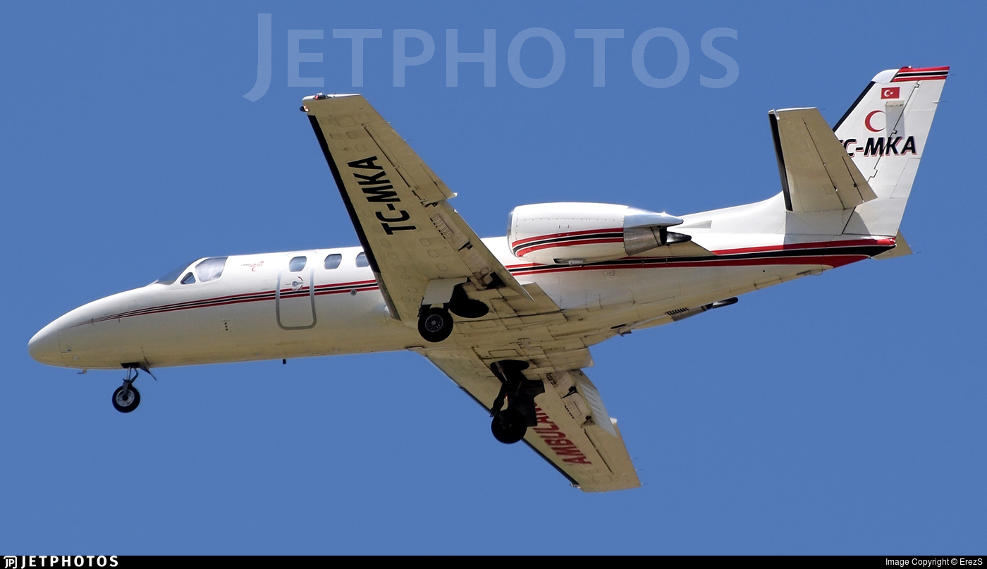 TC-MKA - Cessna 550B Citation Bravo - Bonair Business Charter