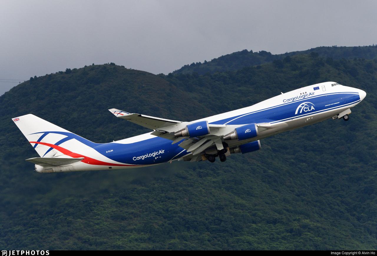 G-CLBA - Boeing 747-428ERF - CargoLogicAir