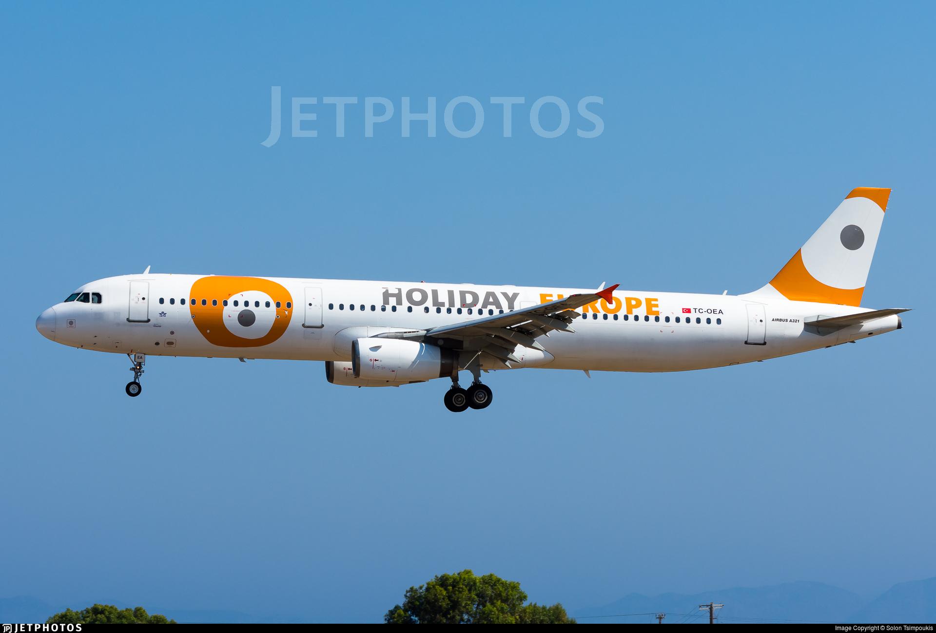 TC-OEA - Airbus A321-231 - Holiday Europe (Onur Air)