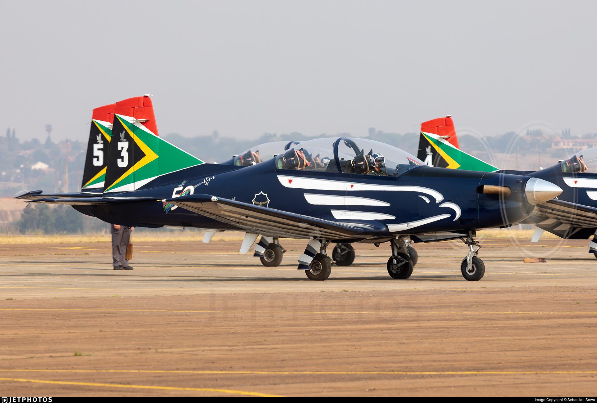 2019 - Pilatus PC-7 Mk.II - South Africa - Air Force