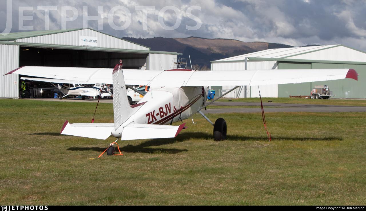 ZK-BJV - Cessna 180 Skywagon - Private