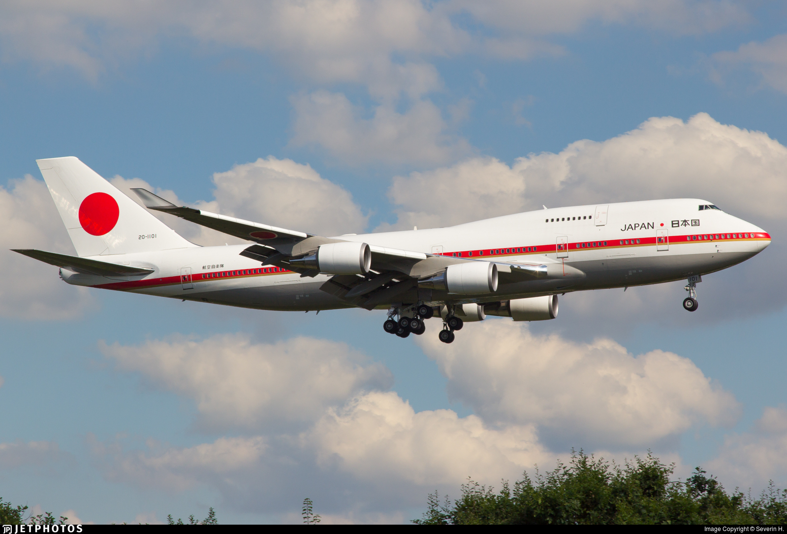 20-1101 - Boeing 747-47C - Japan - Air Self Defence Force (JASDF)