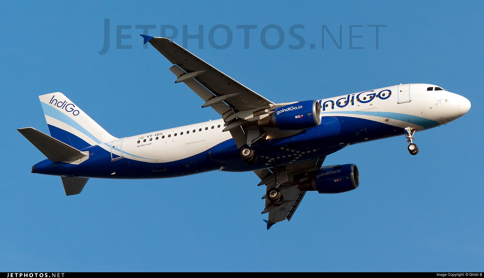 VT-IDS - Airbus A320-214 - IndiGo Airlines